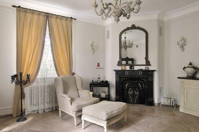 Шторы в гостиную в современном стиле: оригинальные примеры, фото в интерьере