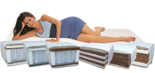 Матрасы для кровати: виды, наполнители, конструкции