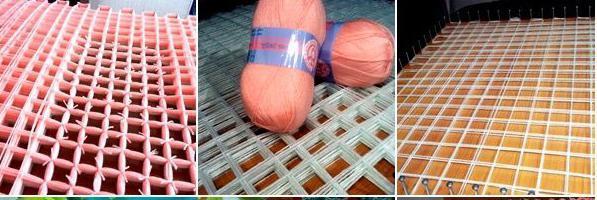 Как сделать коврик из помпонов своими руками пошагово: основа для ковра?