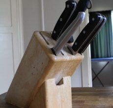Подставка для ножей своими руками: в форме человека и с наполнителем, мастер-класс