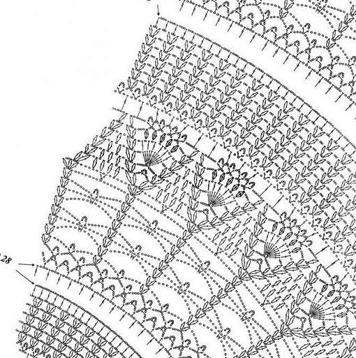 Как связать ажурную красивую скатерть крючком, используя простые схемы и описание