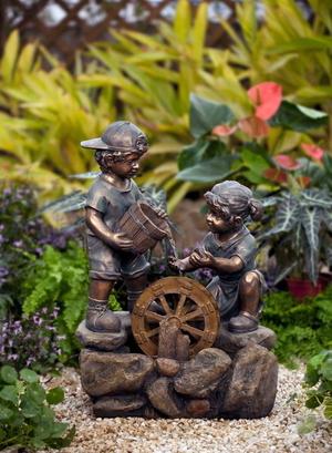 Домашний фонтан: комнатный настольный декоративный элемент своими руками