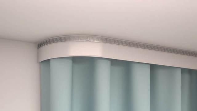 Карнизы для штор потолочные под натяжной потолок: какие лучше, скрытые настенные