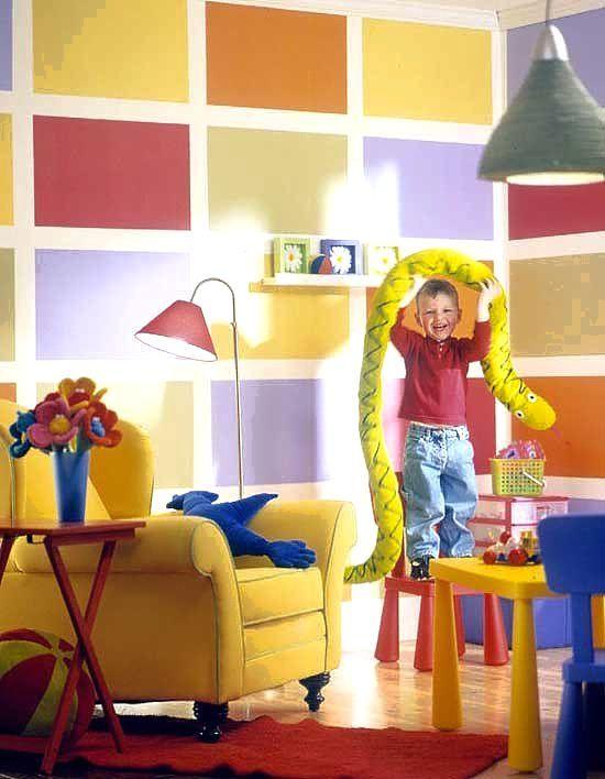 Краска для детской комнаты: как выбрать безопасный вариант?