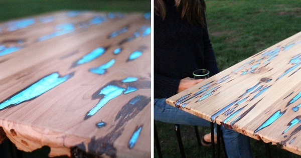 Как сделать светящийся стол своими руками: пошаговая инструкция