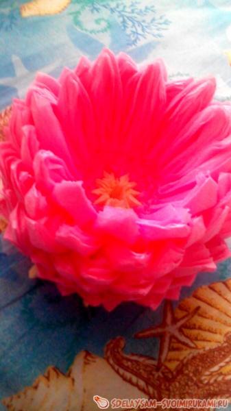 Лотос из салфеток: как сделать салфетницу в виде цветка своими руками