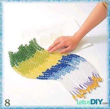 Шторы из бусин: материалы для изготовления, как сделать своими руками