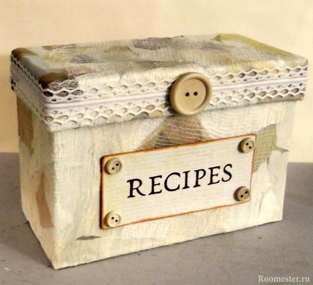 Декор коробки: как украсить картонный ящик и красиво вписать его в интерьер?