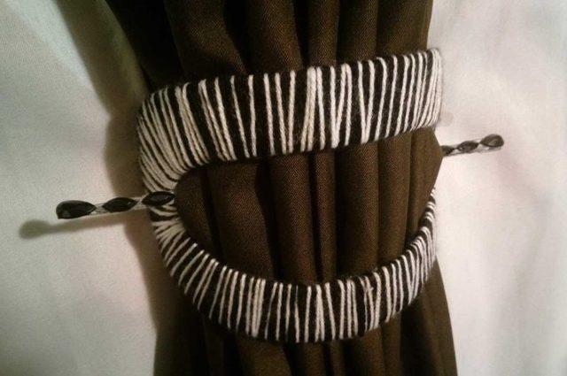 Декор штор: как украсить своими руками, декоративные банты и бабочки