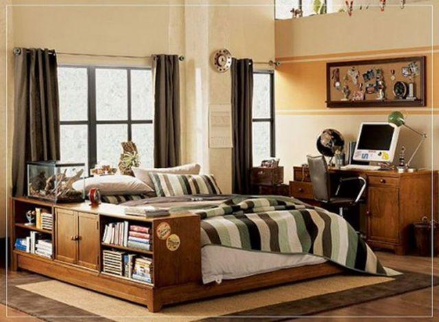 Дизайн комнаты для мальчика подростка: идеи мебели и интерьера