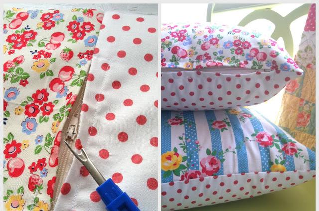 Как правильно вшить молнию в наволочку для подушки: подробная инструкция с фото