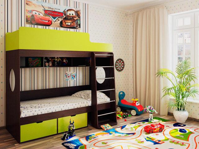 Двухъярусная кровать в детскую: как выбрать оптимальный вариант?
