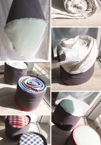 Пуфик-мешок своими руками: описание, инструкции и фото-идеи