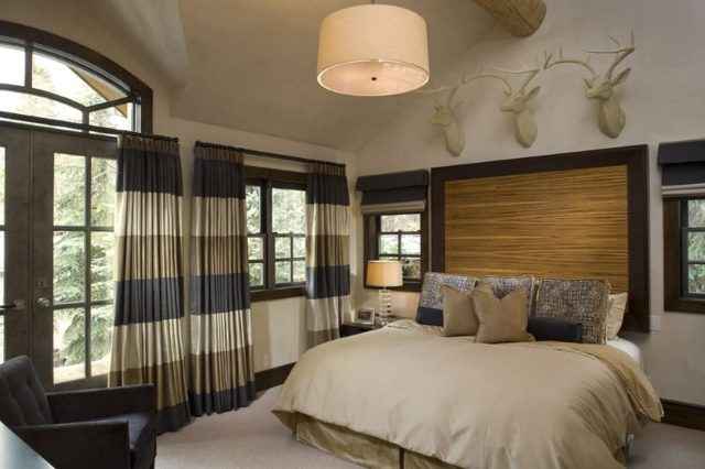 Серые шторы: примеры в интерьере гостиной, спальни, зала и кухни, фото