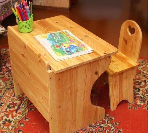 Парта для ребенка своими руками: чертежи, описание, сборка
