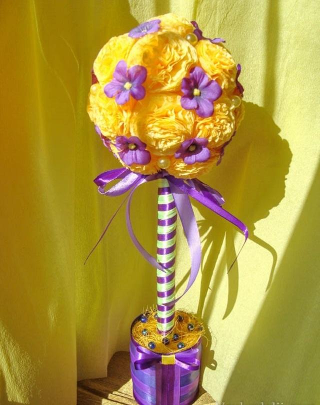 Цветы из салфеток: пошаговый МК для начинающих, делаем букет легко и быстро